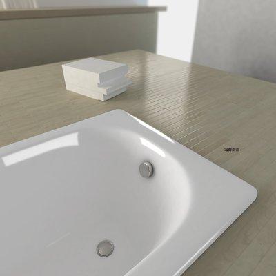 義大利標準系列琺瑯鋼板浴缸