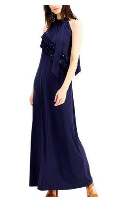 Michael Kors Ruffled Embellished Maxi Dress5/24止