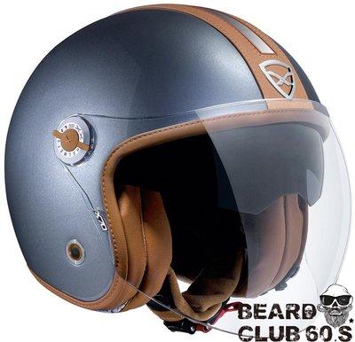 ♛大鬍子俱樂部♛ NEXX® X.70 Groovy 銀 歐洲 復古 CAFE 騎士 哈雷 Jet 偉士牌 安全帽