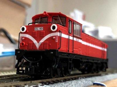 ANEmodel HOe 森林鐵路 阿里山第六代內燃紅色火車頭