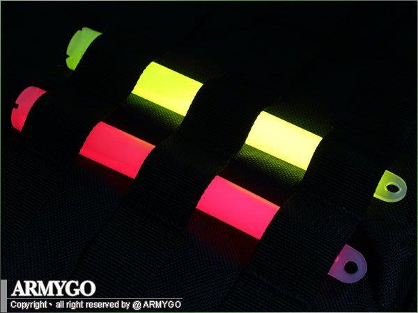 【ARMYGO】軍規戰備演習用螢光棒 (五入裝)