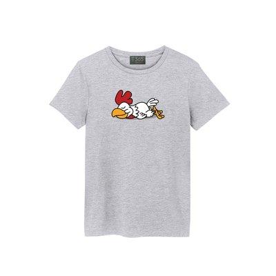 T365 慵懶 趴趴 雞 公雞 瞌睡 動物 午睡 睡覺 T恤 男女皆可穿 多色同款可選 短T 素T 素踢 TEE 短袖