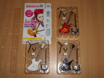 全新Media Factory X Japan Hide Guitar Collection No 2 4 7 結他 食玩 盒蛋 圖中3款(不散賣) last