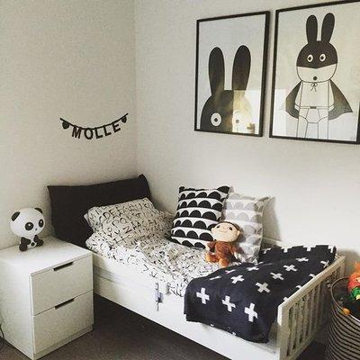 Sis 歐美 框畫 兒童房 掛畫 裝飾 簡約 時尚 嬰兒房 室內設計 IKEA 家飾品 (63*83公分)