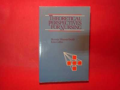 【愛悅二手書坊 18-17】Theoretical perspectives for nursing
