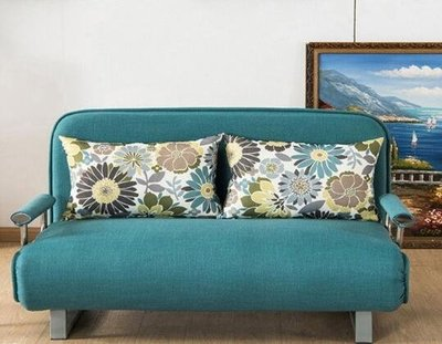 現貨!摺疊沙發床兩用可拆洗客廳多功能小戶型雙人單人1.2米1.5米經濟型ATF 知木屋新品 正韓 折扣