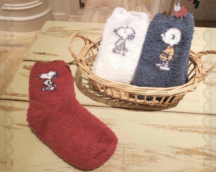 ♥Gelato Pique原單♥襪子軟綿綿SNOOPY聖誕節限定男女款襪子加厚襪♥寶兒私櫥♥【18G122710】