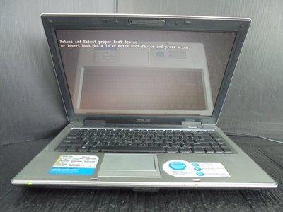 筆電零件機 華碩 ASUS A8S CPU Duo T7300 (可過電開機)