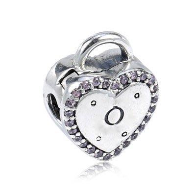 凱莉代購 Pandora 潘朵拉 S925純銀新款手鍊diy珠子配件情人節心形定位扣  預購特價