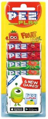 【BOBE便利士】澳洲 PEZ 皮禮士貝思玩偶水果糖 綜合補充包: