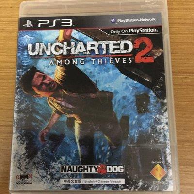 Ps3 秘境探險 2 奈森·德瑞克 uncharted 2 among thieves Nathan Derek 中文 密境探險 中文版 光碟無刮