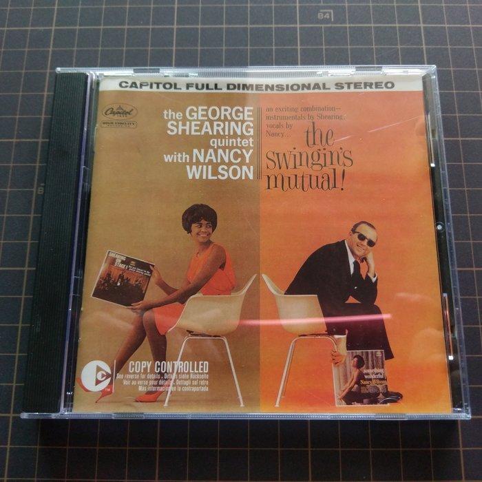 ※藏樂小舖※ (爵士CD) nancy wilson George Shearing~Swingin's Mutual