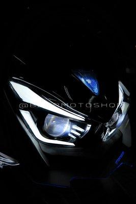 【貝爾摩托車精品店】燈匠 燈之匠 FORCE 魚眼式 LED大燈 魚眼大燈 導光 3D 雙近雙遠 雙大燈