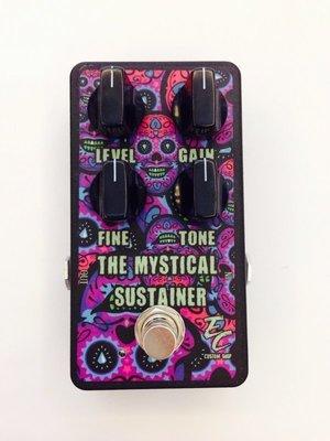 『立恩樂器』免運優惠 EC Pedals Mystical sustainer distortion 破音 效果器