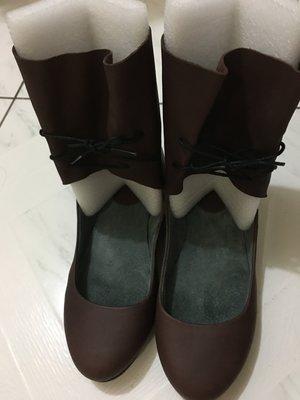 轉賣 CAMPER 真皮製 休閒皮鞋 中空短靴 羅馬鞋 娃娃鞋 台北市