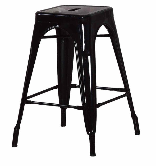 【DH】商品貨號N489-15商品名稱《哈利》黑色中吧台椅(圖一)備有白色可選.輕巧/優質.設計.新品特價