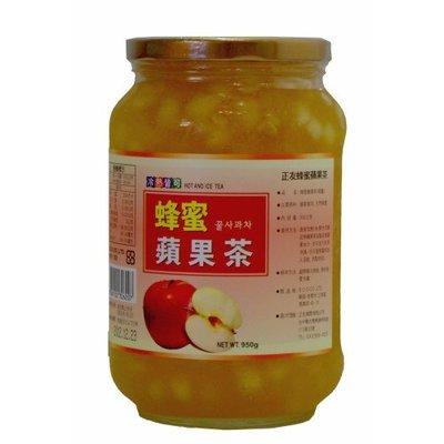 高麗購◎營業用正友蜂蜜蘋果茶950克裝1瓶