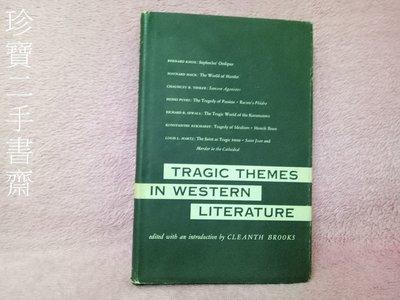【珍寶二手書Fm6】 Tragic Themes in Western Literature Hardcover