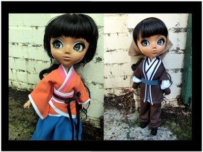 台北里昂玩具設計工作室~AZONE OBITSU Pullip (Blythe)DAL~古裝設計~詢問處*請勿下標