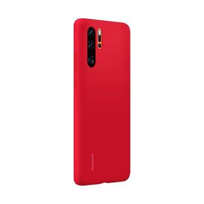 HUAWEI/華為P30手機殼液態硅膠原裝華為p30pro全包防摔官方軟外套HUAWEI手機保護殼手機套現貨全新