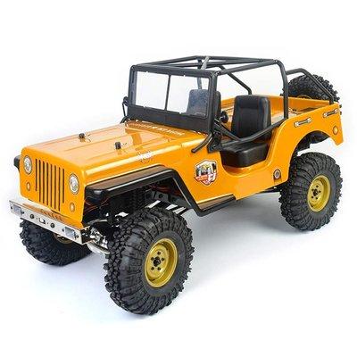 RCBS  全新 RGT 1/10 EX86010CJ 威力吉普攀岩車 4WD RTR + NCC認證 遙控器