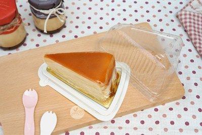 蛋糕三角盒(嵌合式)_20入一組_B3001B◎蛋糕.三角.白底.蛋糕盒.展示.起士蛋糕.乳酪蛋糕.嵌合式