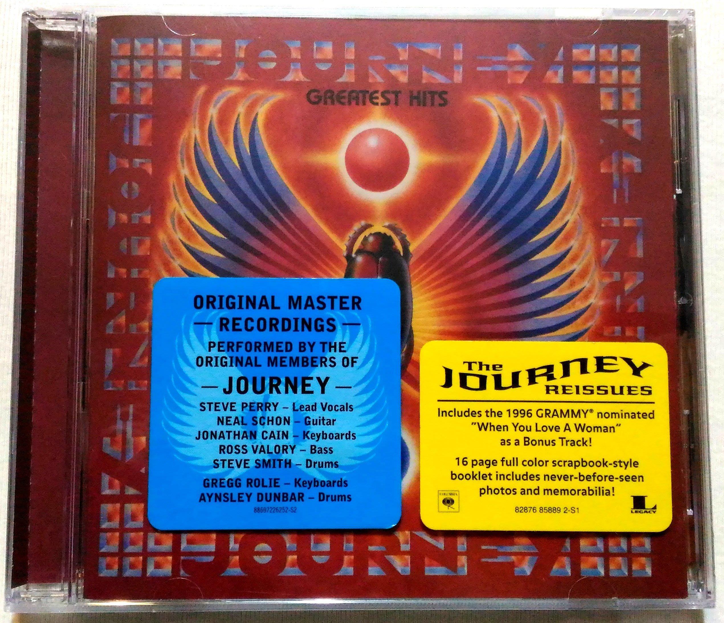 經典搖滾樂團 / 旅行者合唱團 Journey / 曠世精選 Greatest Hits / 美版(+1首) 破盤價 全新未拆