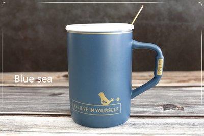Believe in yourself(相信自己) 隨杯附贈:玫瑰金線皮杯墊 馬克杯 馬克杯 水杯 咖啡杯 陶瓷杯 茶杯