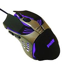 【含稅】paddy 台菱 PD-TU68 六鍵炫彩電競滑鼠 雷射感應 LED柔彩呼吸燈 多段DPI 1.5M 有線滑鼠