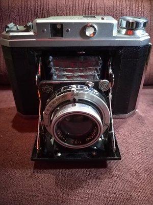 TOSEI Frank Six 古董蛇腹底片相機