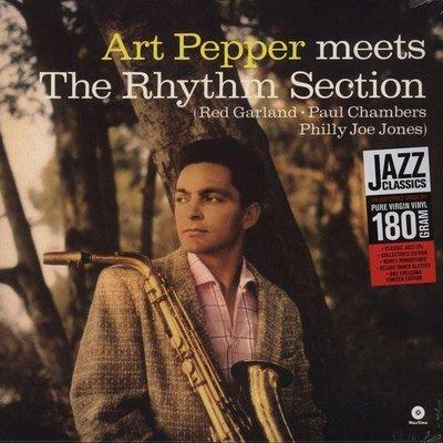 【黑膠唱片LP】Meets The Rhythm Section / 亞特‧派伯 Art Pepper---771887