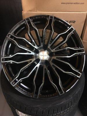 英國PREMIER EDITION旋壓製成22吋鋁圈,最新款CS-10正式上市,適用Land Rover Audi BMW Benz Porsche VOLVO
