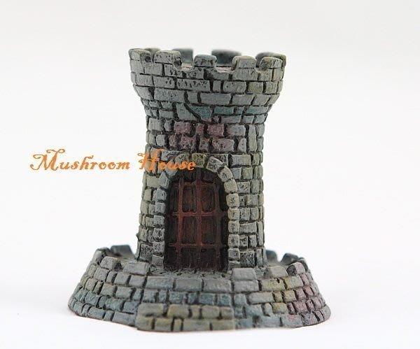 點點蘑菇屋{筆座}歐洲精品城堡造型合金筆座 中古武士
