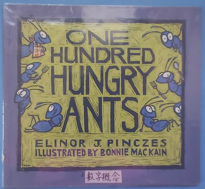 One hundred hungry ants~英文繪本