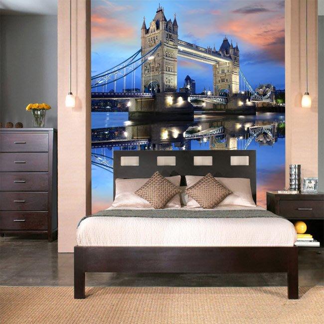 客製化壁貼 店面保障 編號F-355 英國倫敦 壁紙 牆貼 牆紙 壁畫 星瑞 shing ruei