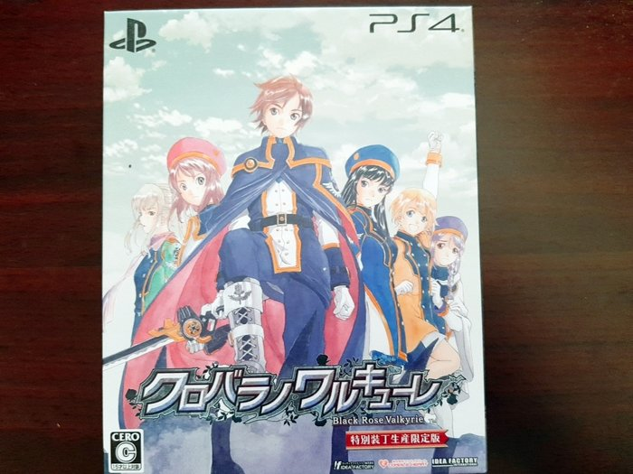 PS4 黑薔薇女武神 限定版 純日版