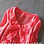 轉賣Bonjourdog130 九成新日本正品Jill Stuart桃粉色秋款七分袖上衣 S號