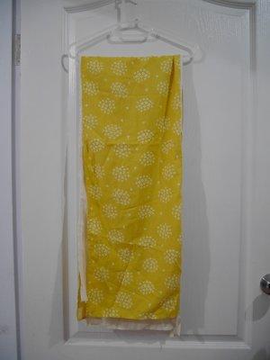 【秋出清】○。買樂屋°○ 專櫃 north object de pefit 黃色和風絲巾