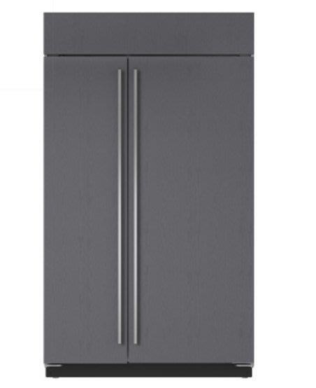 唯鼎國際【美國Sub-zero冰箱】ICBBI-48SID/O 48吋崁厚門板機款 內附製冰機