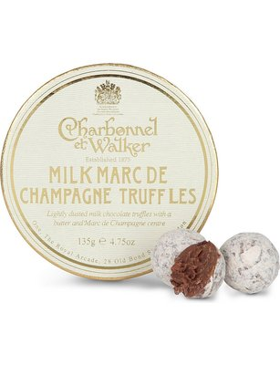 [要預購] 英國代購 英國CHARBONNEL ET WALKER 牛奶香檳松露巧克力 135g