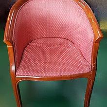 二手家具宏品 台中全新中古傢俱買賣 F814花布洽談椅* 2手桌椅拍賣 戶外休閒桌椅 課桌椅 餐桌椅 電腦椅