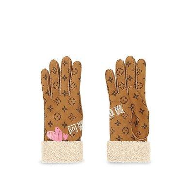 ~阿醬精品專賣~巴黎直送。全新真品 Louis Vuitton (lv ) MONOGRAM DARLING 手套  現貨在台