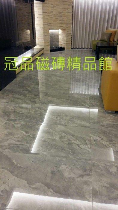 ◎冠品磁磚精品館◎進口精品 數位全釉拋石英磚-灰– 60X120CM