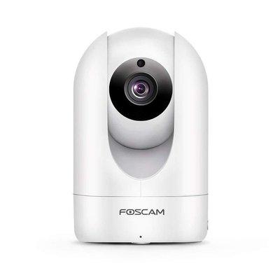 FOSCAM R2C 網路攝影機2.0百萬高清1920 X 1080P雲端/卡儲存白色