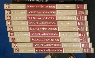 Illustrated Science and Invention Encyclopedia 16冊 /2手