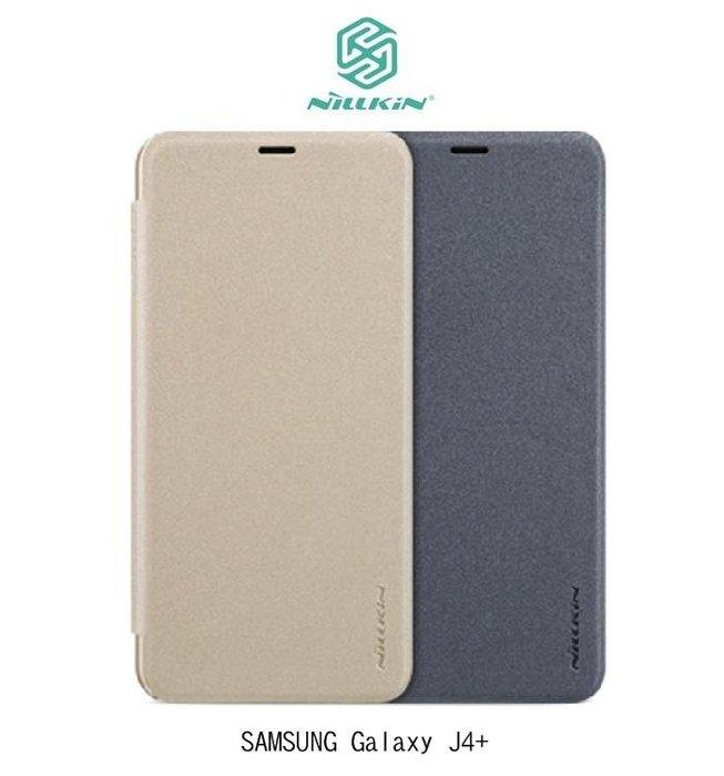 *phone寶*NILLKIN SAMSUNG Galaxy J4+ / J6+ 星韵皮套 側翻皮套 超薄皮套 保護套