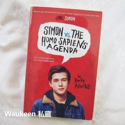 西蒙和他的出櫃日誌電影封面版 Simon vs. the Homo Sapiens Agenda 親愛的初戀原著小說