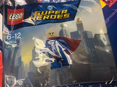 全新Switch PS4 XBox One Super Villains Deluxe 非賣版 Lex Luthor mini LEGO Figure