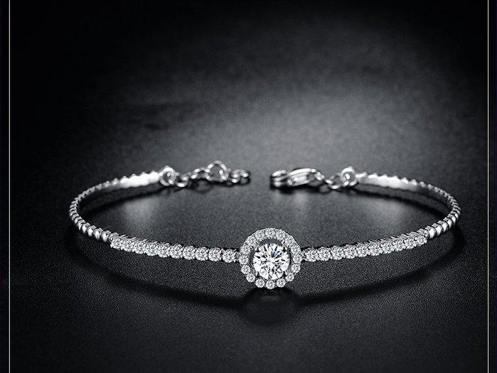 【黛恩&聖蘿蘭珠寶】點開看更多款式 美版時尚設計師款鑽石手鐲 婚戒對戒鑽戒線戒項鍊耳環手鐲別針腳鏈戒指翡翠綠寶紅寶藍寶
