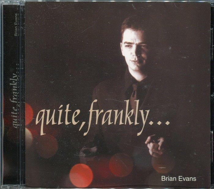 【塵封音樂盒】Brian Evans - Quite, Frankly...